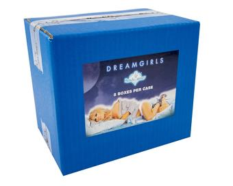 BenchWarmer Dreamgirls Trading Cards 8-Box Case (2017)