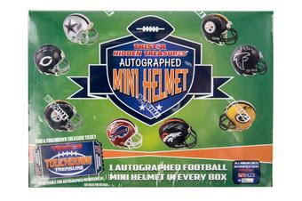 2017 TriStar Hidden Treasures Autographed Mini Helmet Football Hobby Box