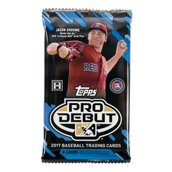 2017 Topps Pro Debut Baseball Hobby Pack