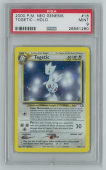 Pokemon Neo Genesis Single Togetic 16/111 - PSA 9