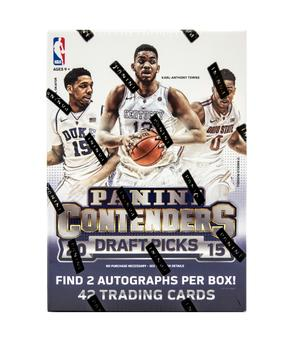 2015/16 Panini Contenders Draft Picks Basketball 7-Pack Box