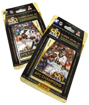 2016 Panini Super Bowl 50 Football Set Pack