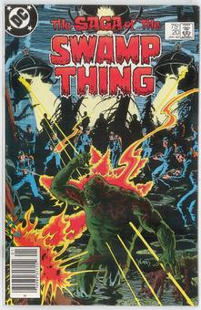 Saga of the Swamp Thing  #20  VF