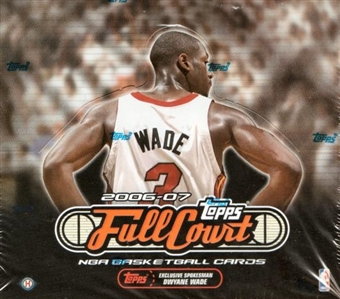 2006/07 Topps Full Court Basketball Hobby Box