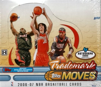 2006/07 Topps Trademark Moves Basketball Hobby Box