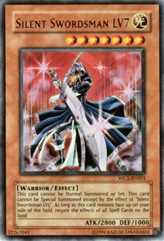 Yu-Gi-Oh Promo Single Silent Swordsman LV7 Ultra Rare (WC5-EN001)