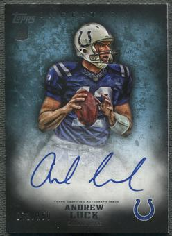 2012 Topps Inception #110 Andrew Luck Blue Rookie Auto #079/150