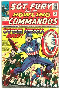 Sgt Fury and His Howling Commandos #13 VG/FN