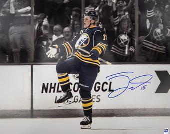 Jack Eichel Autographed Buffalo Sabres Spotlight 16x20 Photo