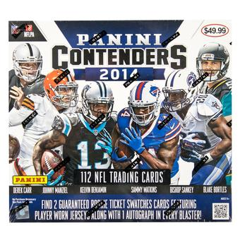 2014 Panini Contenders Football 14-Pack Box