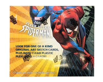 Fleer Ultra Spider-Man Trading Cards Box (Upper Deck 2017)