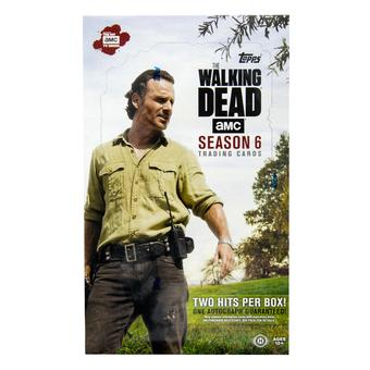 The Walking Dead: Season 6 Hobby Box (Topps 2017)