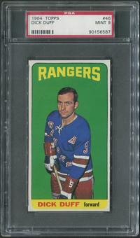 1964/65 Topps Hockey #46 Dick Duff PSA 9 (MINT)