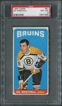 1964/65 Topps Hockey #51 Ed Westfall SP PSA 8 (NM-MT)