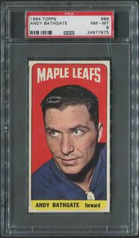1964/65 Topps Hockey #86 Andy Bathgate PSA 8 (NM-MT)
