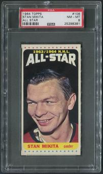1964/65 Topps Hockey #106 Stan Mikita All Star SP PSA 8 (NM-MT)