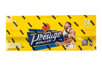 2016/17 Panini Prestige Basketball Hobby Box (PLUS 2 Panini Day Packs!)
