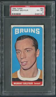 1964/65 Topps Hockey #90 Murray Balfour PSA 6 (EX-MT)