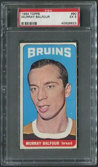 1964/65 Topps Hockey #90 Murray Balfour PSA 5 (EX)
