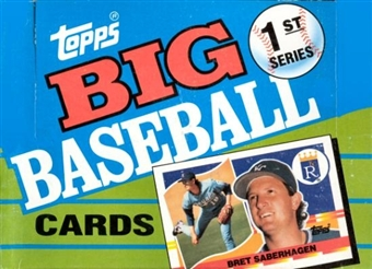 1990 Topps Big Series 1 Baseball Wax Box
