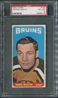 1964/65 Topps Hockey #100 Johnny Bucyk PSA 6 (EX-MT)