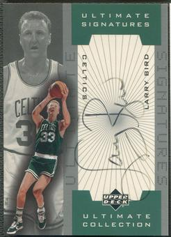 2001/02 Ultimate Collection #LBA Larry Bird Ultimate Signatures Auto