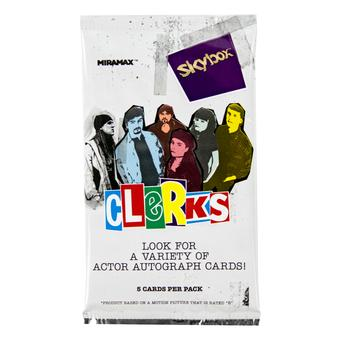 Clerks Trading Cards Pack (Upper Deck 2017)