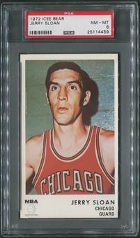 1972/73 Icee Bear Basketball #16 Jerry Sloan PSA 8 (NM-MT)