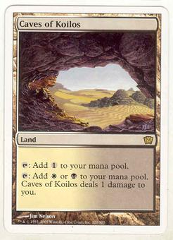 Magic the Gathering 9th Edition Single Caves of Koilos - SLIGHT PLAY (SP)