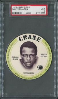 1976 Crane Discs Football #23 Walter Payton SP PSA 9 (MINT)
