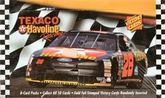 1994 Maxx Texaco Havoline Racing Hobby Box