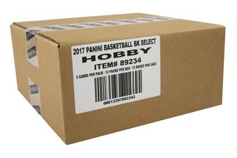 2016/17 Panini Select Basketball Hobby 12-Box Case