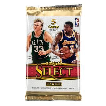 2016/17 Panini Select Basketball Hobby Pack