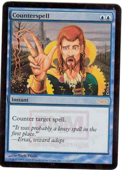 Magic the Gathering Promo Single Counterspell Foil (FNM)