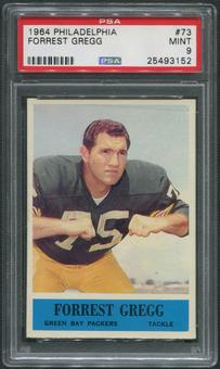 1964 Philadelphia Football #73 Forrest Gregg PSA 9 (MINT)