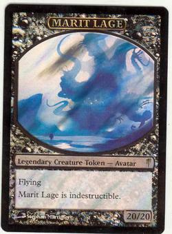 Magic the Gathering Coldsnap Single Marit Lage Foil (Promo)