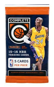 2015/16 Panini Complete Basketball Retail Pack