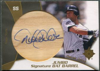 2009 Ultimate Collection #DJ Derek Jeter Jumbo Bat Auto #47/50