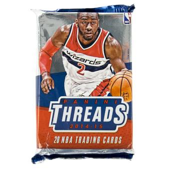 2014/15 Panini Threads Basketball Blaster Pack