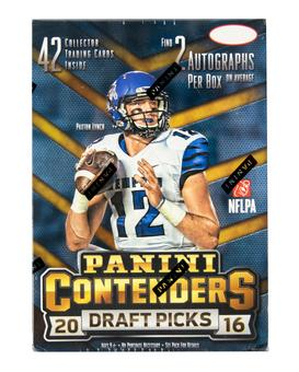 2016 Panini Contenders Draft Picks Football 7-Pack Box