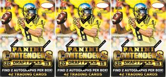2015 Panini Contenders Draft Picks Football 6-Pack Box (Lot of 3)