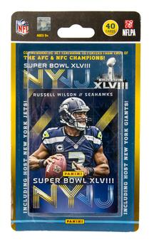 2014 Panini Super Bowl XLVIII Football 40-Card Set