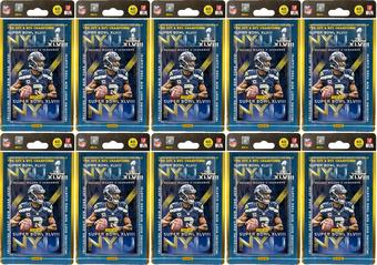 2014 Panini Super Bowl XLVIII Football 40-Card Set (Lot of 10)