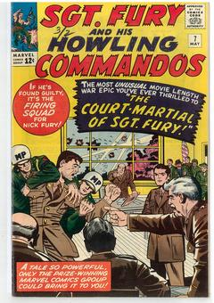 Sgt. Fury and His Howling Commandos #7 VF