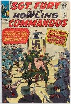 Sgt. Fury and His Howling Commandos #9 VF