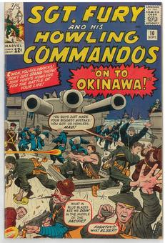 Sgt. Fury and His Howling Commandos #10 VF