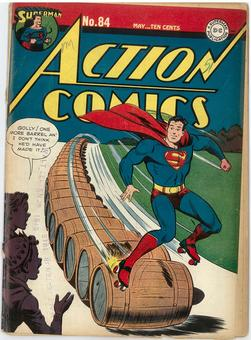 Action Comics #84 GD Restored