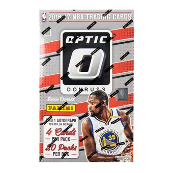 2016/17 Panini Donruss Optic Basketball Hobby 12-Box Case- DACW Live 30 Team Random Break #1