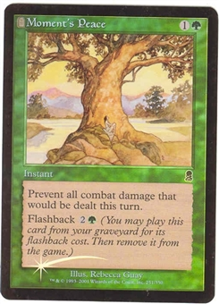 Magic the Gathering Odyssey Single Moment's Peace Foil