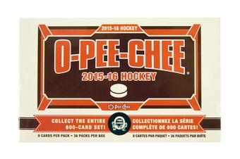 2015/16 Upper Deck O-Pee-Chee Hockey 36-Pack Box